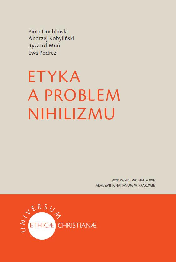 Etyka a problem nihilizmu | wydawnictwowam.pl