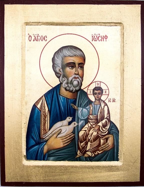 Ikona Święty Józef | wydawnictwowam.pl