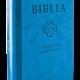 Biblia pierwszego Kościoła (na zamek, błękitna)