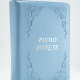 Pismo Święte Starego i Nowego Testamentu / błękitne, zamek, paginatory