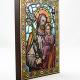 Święty Józef z Dzieciątkiem - obraz / witraż średni