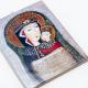 Matka Boża z Dzieciątkiem - kafelek / w koronie duży