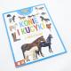 Konie i kucyki z naklejkami