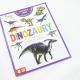 Dinozaury z naklejkami