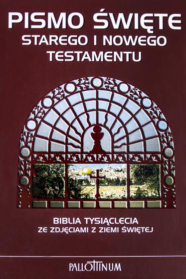 Pismo Święte Starego i Nowego Testamentu ze zdjęciami