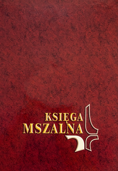 Księga mszalna - Duża