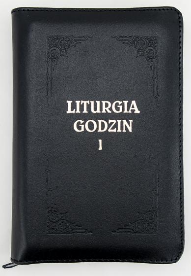 Liturgia Godzin - Tom I z suwakiem, złocone brzegi kartek