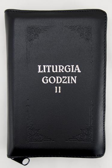 Liturgia Godzin - Tom II oprawa skórzana, z suwakiem, złocone brzegi kartek
