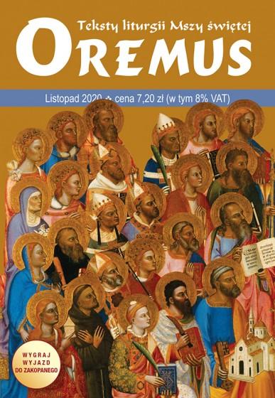 Oremus Listopad 2020