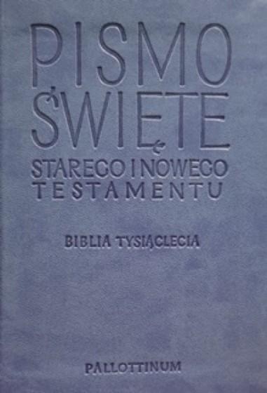 Pismo Święte Starego i Nowego Testamentu / travel niebieskie