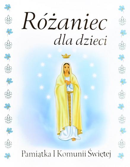 Różaniec dla dzieci Pamiątka I Komunii Świętej