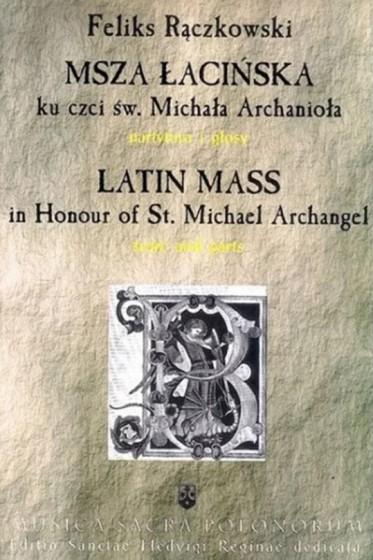 Msza łacińska ku czci św. Michała Archanioła / Outlet