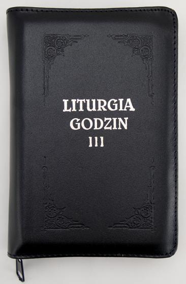 Liturgia Godzin - Tom III oprawa skórzana, z suwakiem, złocone brzegi kartek