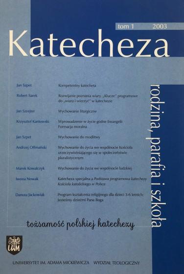 Katecheza Tom 1 / 2003