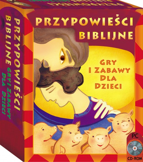 Przypowieści biblijne Gry i zabawy cd-rom