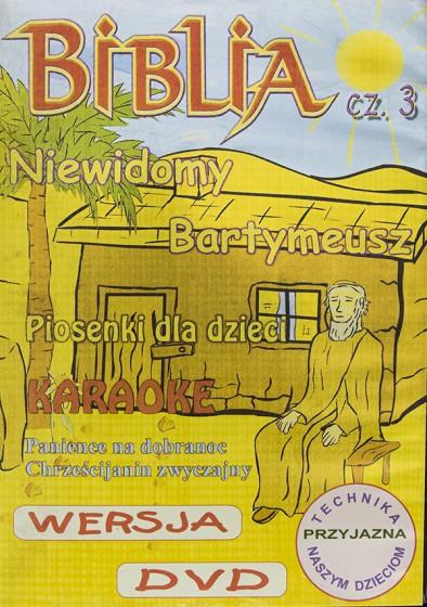 Biblia cz.3. Niewidomy Bartymeusz