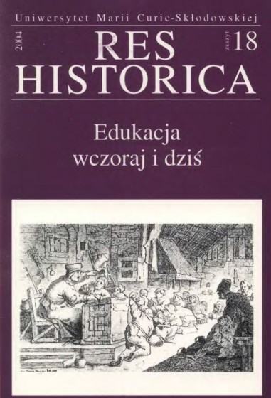Res Historica 18/2004 / Outlet