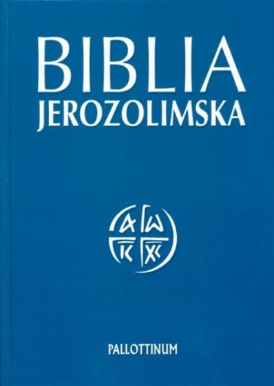 Biblia Jerozolimska oprawa twarda