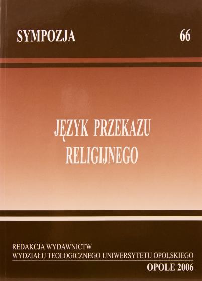 Język przekazu religijnego / Outlet