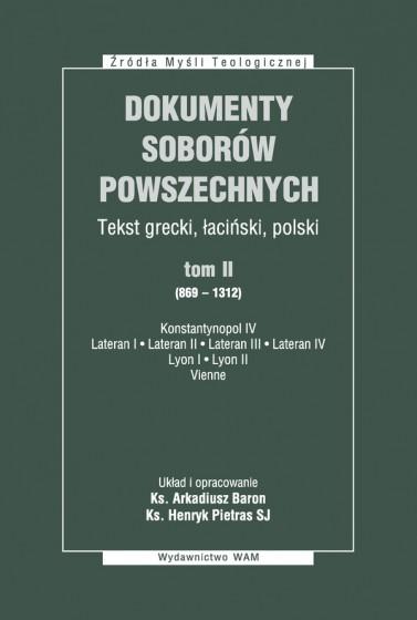 Dokumenty Soborów Powszechnych, tom II (869-1312) - Broszura