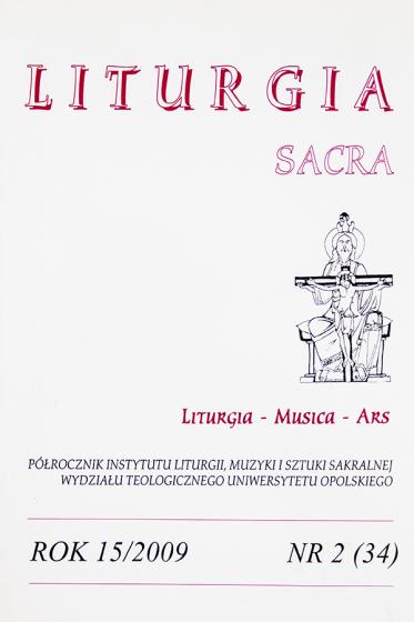 Liturgia Sacra Nr 2 (34) / Outlet