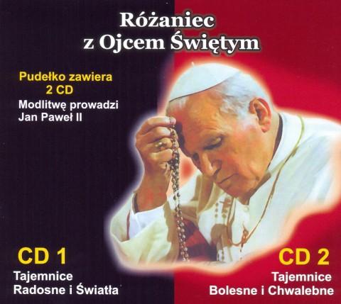 Różaniec z Ojcem Świętym CD