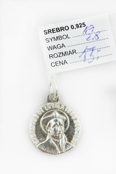 Medalik św. Ignacy Loyola