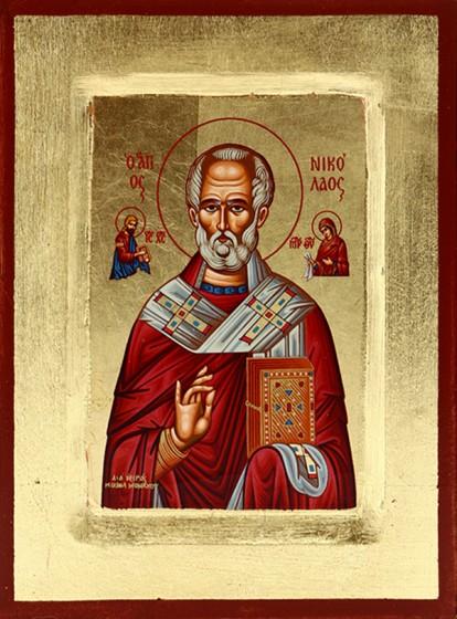 Ikona Święty Mikołaj