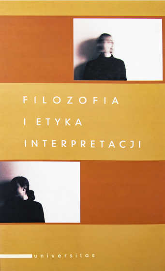 Filozofia i etyka interpretacji / Outlet