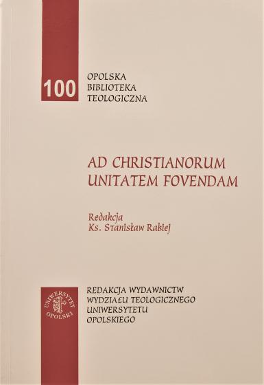 Ad Christianorum Unitatem Fovendam / Outlet