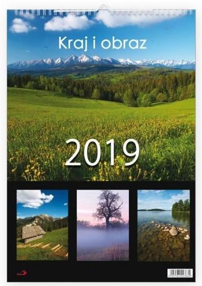Kalendarz 2019 Kraj i obraz