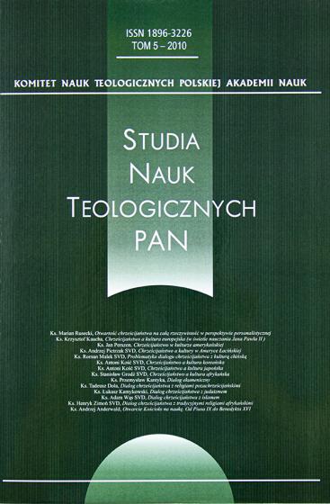 Studia nauk teologicznych PAN / Outlet