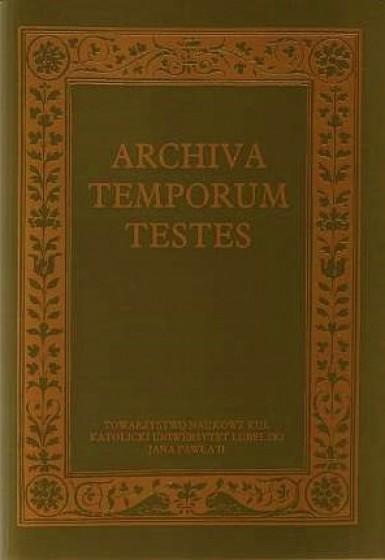 Archiva Temporum Testes / Outlet