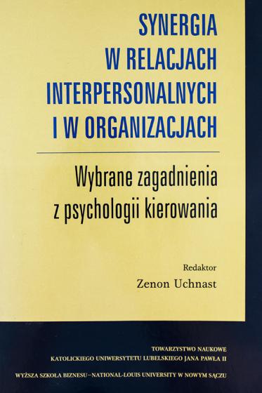 Synergia w relacjach interpersonalnych i w organizacjach / Outlet