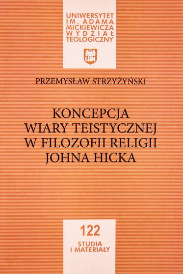 Koncepcja wiary teistycznej w filozofii religii Johna Hicka / Outlet