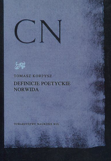 Definicje poetyckie Norwida / Outlet