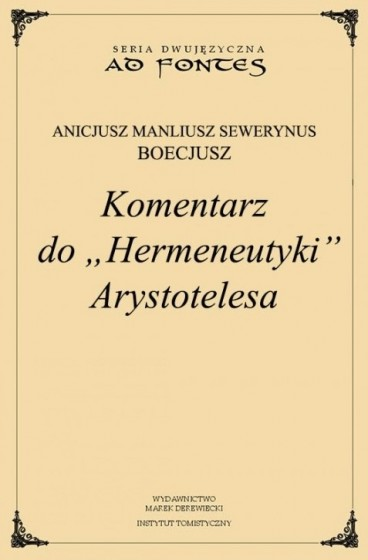 "Komentarz do ""Hermeneutyki"" Arystotelesa / Outlet"
