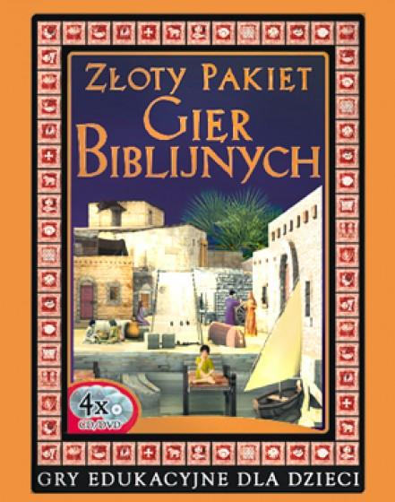 Złoty pakiet gier biblijnych DVD