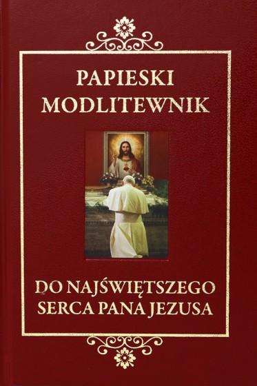 Papieski modlitewnik do Najświętszego Serca Pana Jezusa z koronką w prezencie