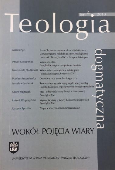 Teologia dogmatyczna Tom 4 / 2010 / Outlet