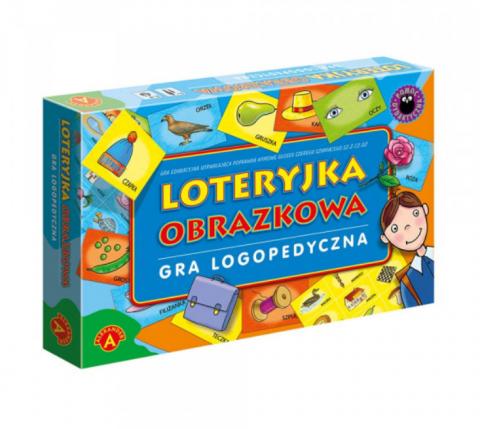 Loteryjka obrazkowa Gra logopedyczna