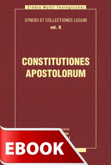 Constitutiones Apostolorum tom II