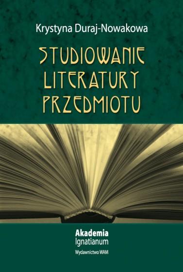 Studiowanie literatury przedmiotu
