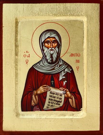 Ikona Święty Antoni - mała