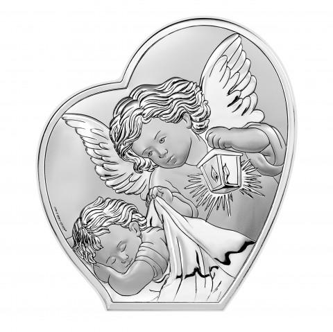 Aniołek z latarenką nad dzieciątkiem 6591/3b