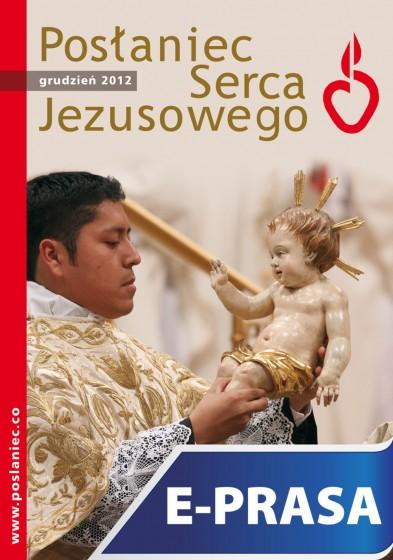 Posłaniec Serca Jezusowego - grudzień 2012