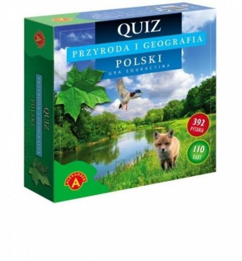 Przyroda i geografia Polski - Quiz (średni)
