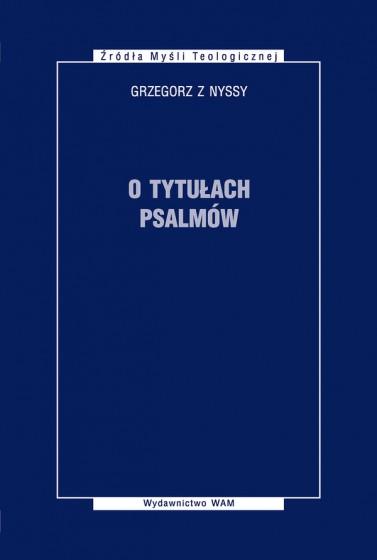 O tytułach psalmów