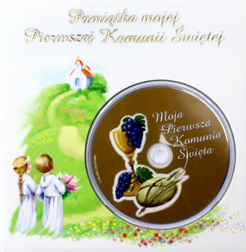 Pamiątka mojej Pierwszej Komunii Świętej z płytą DVD