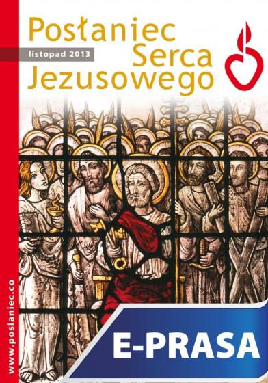 Posłaniec Serca Jezusowego - listopad 2013
